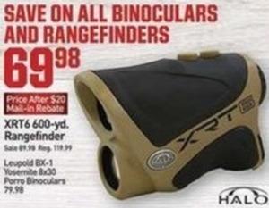 All Binoculars and Rangefinders after Mail-In Rebate