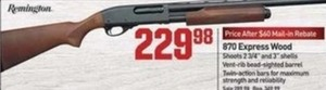 Remington 870 Express Wood Gun