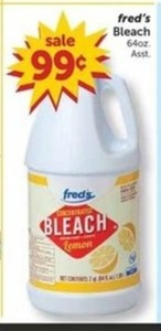 Fred's Bleach (64oz.)