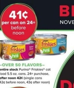 Purina Friskies Cat Food (Must Buy 24+ Cans)