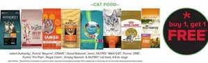 Select Cat Food 4-8 lb Bags