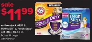 Entire Stock of Arm & Hammer & Fresh Step Cat Litter