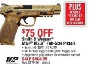 Smith & Wesson M&P M2.0 Full  Size Pistols