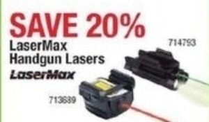 LaserMax Handgun Lasers
