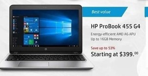 HP ProBook 455 G4 Laptop