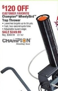 Champion WheelyBird Trap Thrower