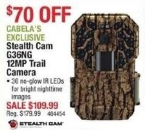 Stealth Cam G36NG 12MP Trail Camera