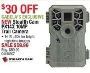 Stealth Cam PX14X 10MP Trail Camera