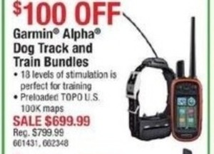 Garmin Alpha Dog Track & Train Bundles