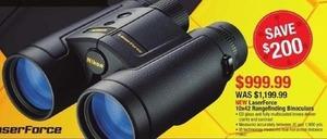 LaserForce 10x42 Rangefinding Binoculars