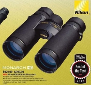 Nikon Monarch HG Binoculars