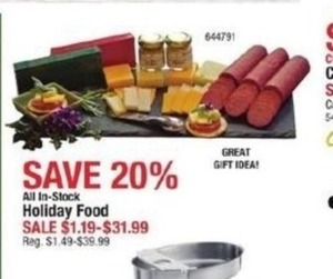 All In-Stock Holiday Food