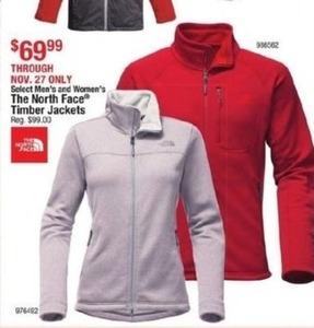 The North Face Timber Jackets