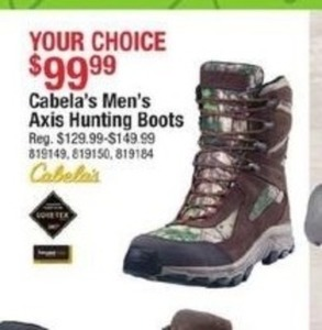 Cabala's Men's Axis Hunting Boots