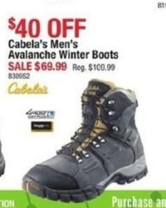 Cabela's Men's Avalanche Winter Boots