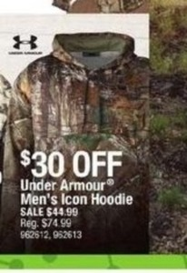 Under Armour Men's Icon Hoodie