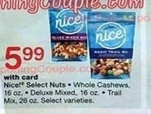 Nice Select Nuts w/ Card