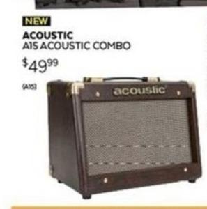 Acoustic A15 Acoustic Combo Amp