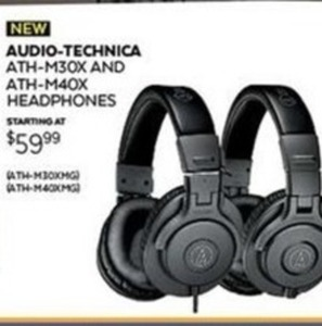 Audio-Technica ATH M40X Headphones