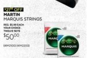 Martin Marquis Strings 12-Pack