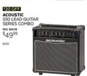 Acoustic G10 Lead Guitar Series Combo