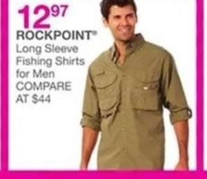 Men's Rockpoint Long Sleeve Fishing Shirts