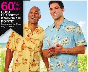 Boca Classics & Windham Pointe Sportswear For Men
