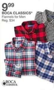 Boca Classics Flannels For Men