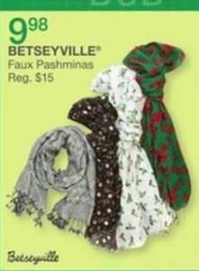 Betseyville Faux Pashminas
