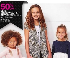 Dresswear & Amy Byer Kids Sets