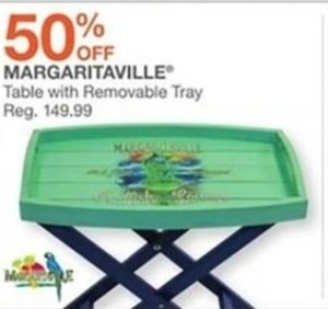 Margaritaville Table With Removable Tray