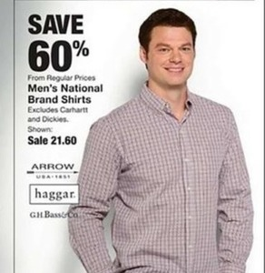 Men's National Brand Shirts