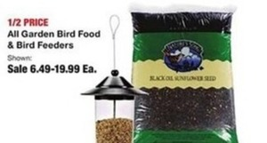 All Garden Bird Food & Feeders