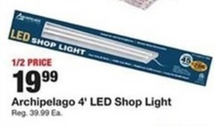 Archipelago 4' LED Shop Light