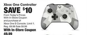Xbox One Controller w/In-Store Coupon