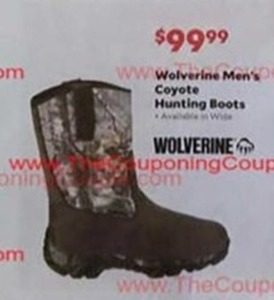 Men's Wolverine Coyote Hunting Boots