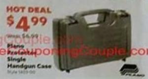 Single Handgun Case