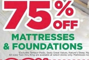 Mattresses & Foundations