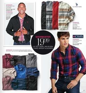 Van Heusen Woven & Knit Sport Shirts