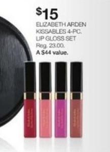 Elizabeth Arden Kissables 4-Pc Lip Gloss Set