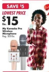 My Karaoke Pro Wireless Microphone