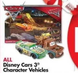 Disney Cars 3 Character Vehicles
