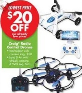 Craig Radio Control Drones