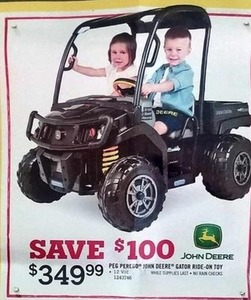 Peg Perego John Deere Gator Ride-On Toy