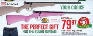 Savage Rascal Youth Single-Shot Rifle After Rebte