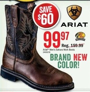 Ariat Men's Sahara Work Boots