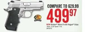 Kimber Micro 9 w/ Hogue Grips 9mm