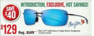 Maui Jim Lighthouse or Sugar Beach Sunglasses