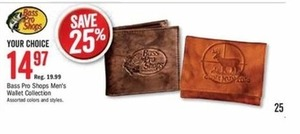 Bass Pro Shops Men's Wallet Collection