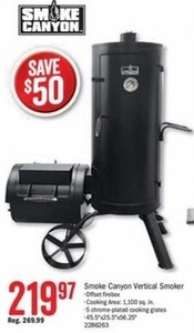 Smoke Canyon Verticle Smoker